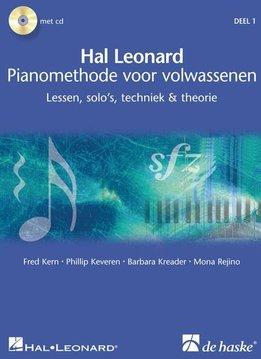 De Haske Hal Leonard Pianomethode voor volwassenen | Deel 1 | Lessen, solo's, techniek & theorie
