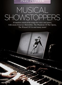 Wise Publications Piano Playbook | Musical Showstoppers