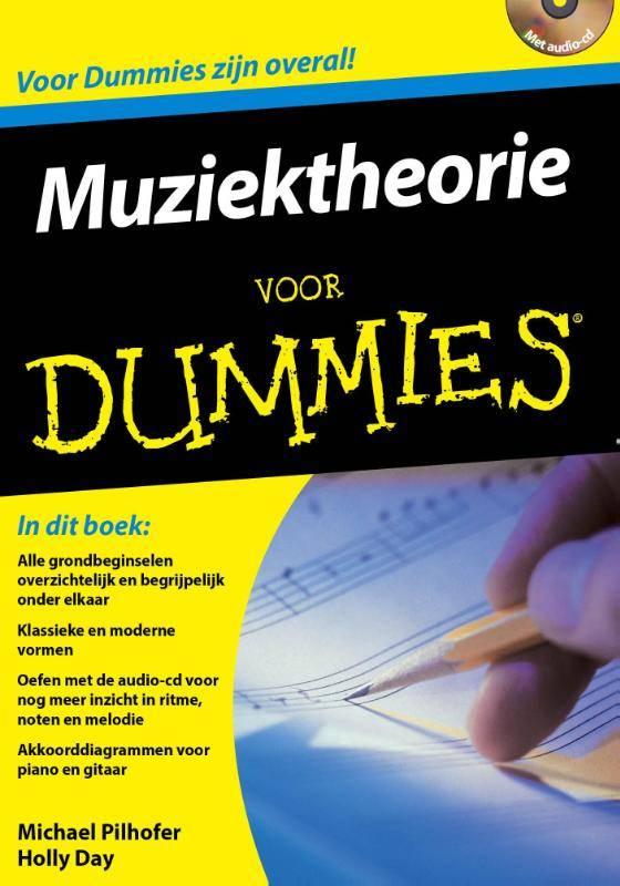 BBNC Muziektheorie voor Dummies + CD