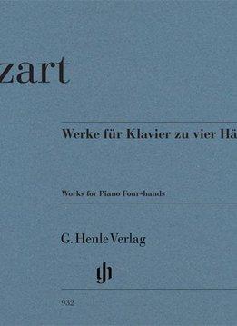 Henle Verlag Mozart | Werken voor piano vier handen