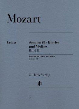Henle Verlag Mozart, W.A. | Vioolsonates | Volume 3