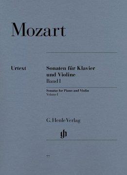 Henle Verlag Mozart  | Vioolsonates | Volume 1