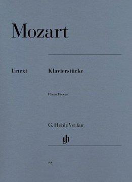 Henle Verlag Mozart  | Pianowerken | Bladmuziek voor piano