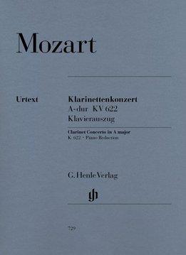 Henle Verlag Mozart, W.A. | Concert voor Klarinet en Orkest in A K. 622