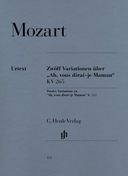 "Henle Verlag Mozart | 12 Variaties op ""Ah, vous dirai-je Maman"" KV265 (300e)"
