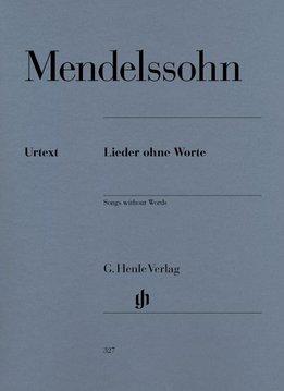 Henle Verlag Mendelssohn Bartholdy, Felix   Songs without Words (Liederen zonder Woorden)