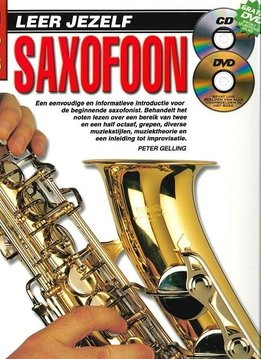 Koala Publications Leer jezelf Saxofoon | Boek, CD én DVD