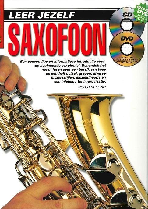 Koala Publications Leer jezelf Saxofoon   Boek, CD én DVD