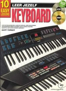 Koala Publications Leer jezelf keyboard | Boek, CD én DVD