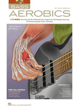 Hal Leonard Jon Liebman | Bass Aerobics | boek + CD