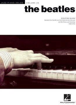 Hal Leonard The Beatles | Jazz Piano Solos Series Volume 28