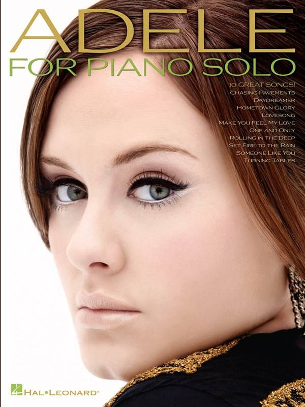 Wise Publications Adele | For Piano Solo