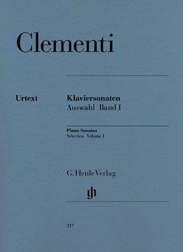 Henle Verlag Clementi | Pianosonates - Selectie | Volume I (1768-1785)