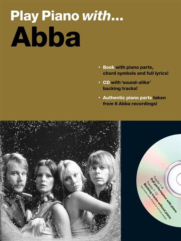 Wise Publications Abba | Play Piano With... Abba