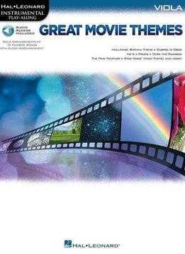 Hal Leonard Instrumental Play-Along: Great Movie Themes | Altviool (Boek + Audio)