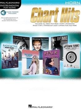 Hal Leonard Instrumental Play-Along: Chart Hits   Hoorn (Boek + Audio)