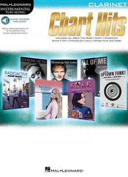 Hal Leonard Instrumental Play-Along: Chart Hits | Klarinet (Boek + Audio)