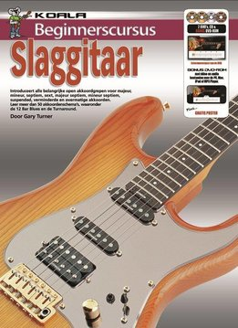 Koala Publications Beginnerscursus Slaggitaar | Boek + CD + DVD