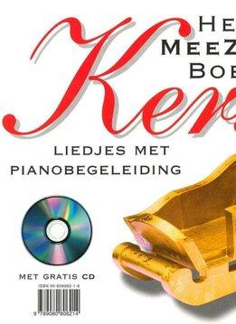 Meezingboek Sinterklaas & Kerst | Liedjes met Pianobegeleiding | Boek + CD