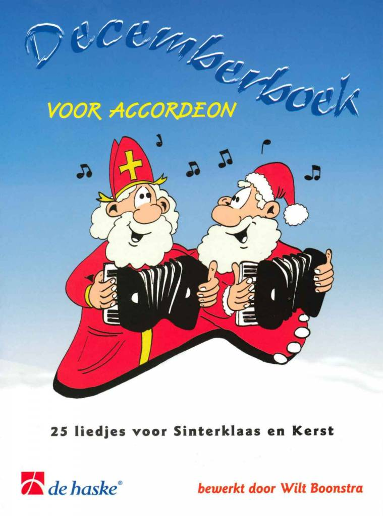 De Haske Decemberboek voor Accordeon