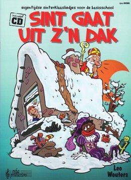 Reba Sint gaat uit z'n dak | Sinterklaasliedjes voor de basisschool Boek + CD