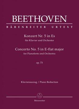 Bärenreiter Beethoven | Pianoconcert nr. 5 in Es op. 73  | Piano-uittreksel