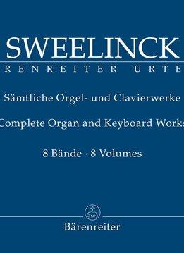 Bärenreiter Sweelinck, Jan Pieterszoon | Complete Werken voor Orgel en Klavier | Volume I-IV
