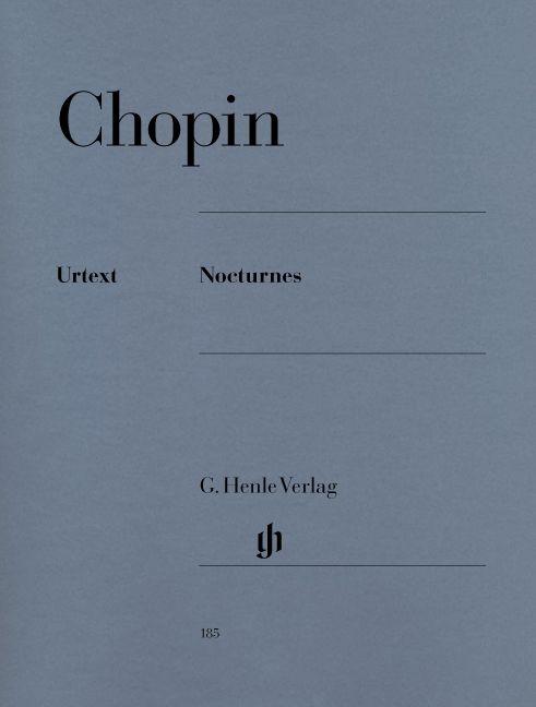 Henle Verlag Chopin | Nocturnes | Bladmuziek piano