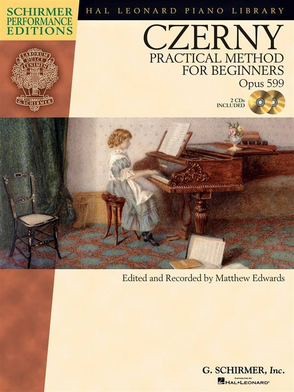 Schirmer Czerny, Carl | Praktische Methode voor Beginners Op.599 | Boek + audio