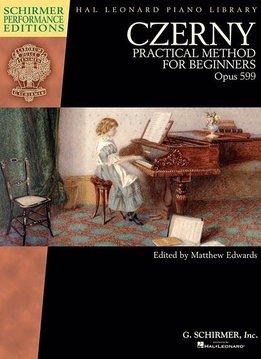Schirmer Czerny, Carl | Praktische Methode voor Beginners Op.599 | Boek