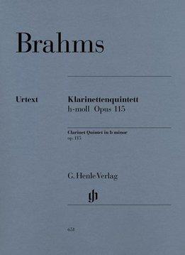 Henle Verlag Brahms, J. | Klarinet Kwintet in b klein op. 115
