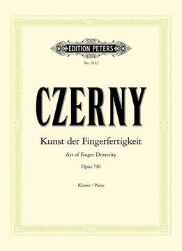Edition Peters Czerny, Carl | De Kunst van Vingervlugheid | Opus 740
