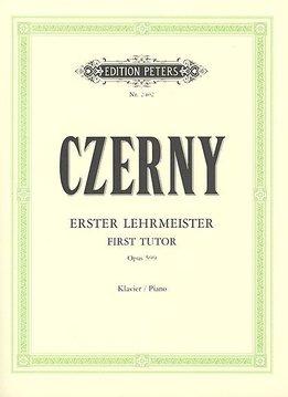 Edition Peters Czerny, Carl | De Eerste Leermeester | Opus 599
