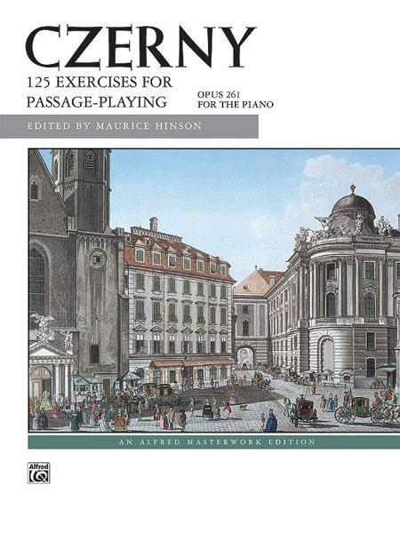 Alfred Czerny, Carl   125 Oefeningen voor Passagespel   Op.261