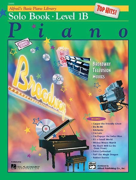 Alfred Alfred's Basic Piano Library | Top Hits Solo Book 1B