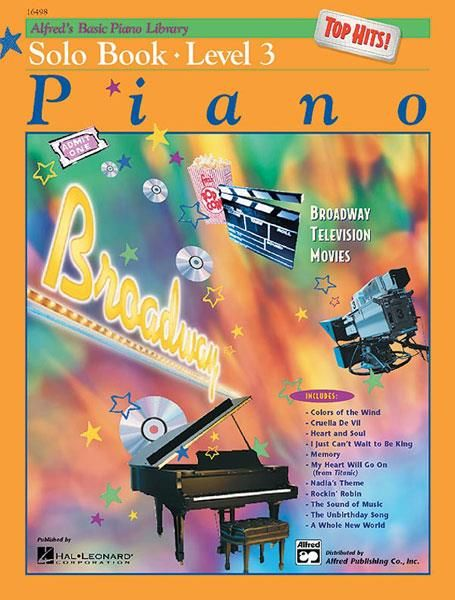 Alfred Alfred's Basic Piano Library | Top Hits Solo Book 3