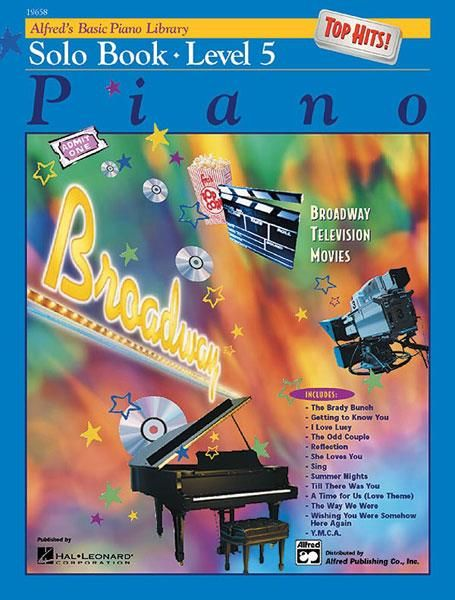 Alfred Alfred's Basic Piano Library | Top Hits Solo Book 5