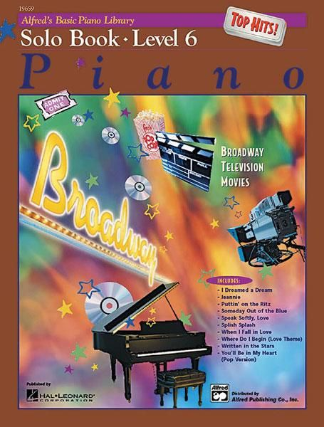 Alfred Alfred's Basic Piano Library | Top Hits Solo Book 6
