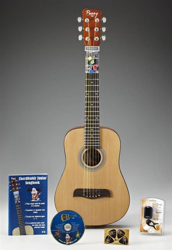Chordbuddy ChordBuddy Jr. Guitar System | Het snelste leersysteem in de wereld! Inclusief Gitaar!