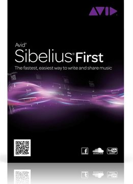 Avid Sibelius First | Instap Notatiesoftware | Activation Card