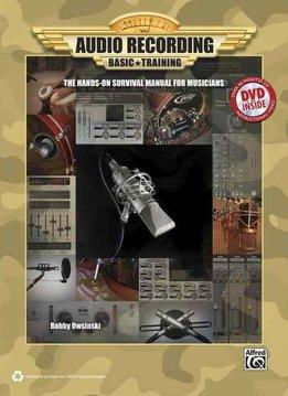 Hal Leonard Audio Recording Basic Training | Inclusief DVD
