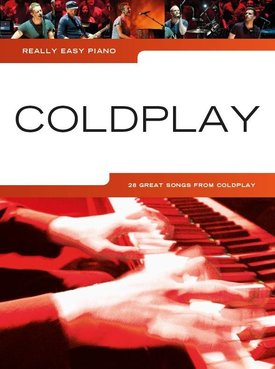 Wise Publications Really Easy Piano | Coldplay