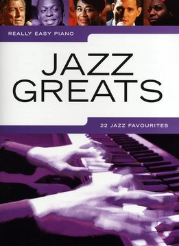 Wise Publications Really Easy Piano | Jazz Greats