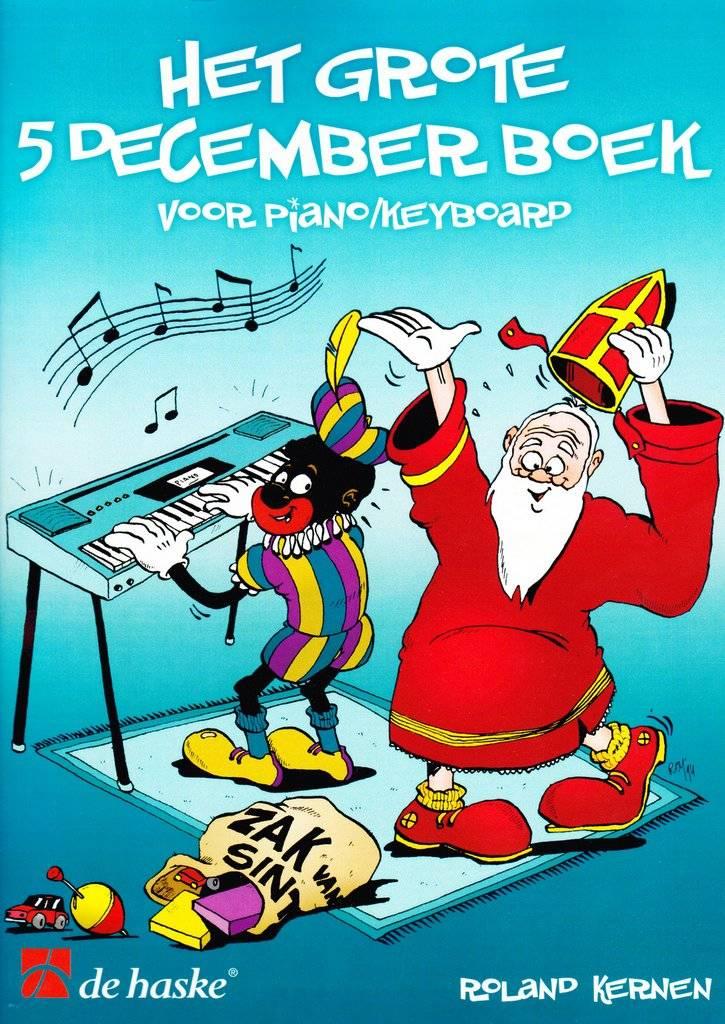 De Haske Het grote 5 december boek | Voor Piano & Keyboard