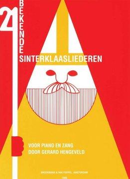 Broekmans & Van Poppel 21 Bekende Sinterklaasliederen | Voor Zang en Piano