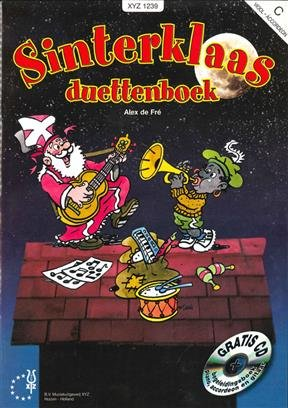 XYZ Sinterklaas Duettenboek C + CD | Viool & Accordeon