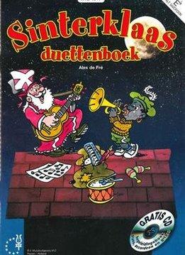 XYZ Sinterklaas Duettenboek Es + CD | Alt Saxofoon & Es Hoorn