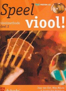 De Haske Speel Viool! Deel 2 (NL) Boek + 2CD