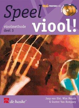De Haske Speel Viool! Deel 3 (NL) Boek + 2CD