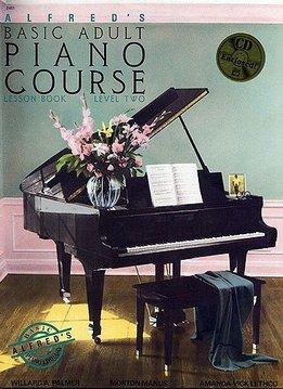 Alfred Alfred's Piano-Methode voor volwassen beginners | Lesboek 2 + CD (EN)